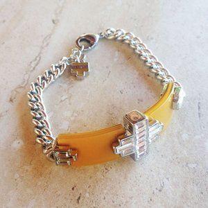 Silver Link Bracelet by Lia Sophia
